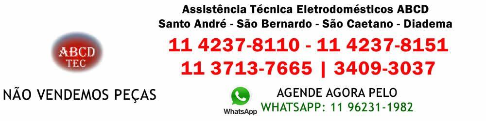 Abcdtec assistência técnica eletrodomésticos, Ligue: 11 4237-8110